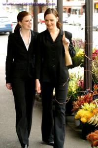 Business Women Walking