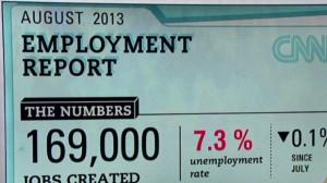 August 2013 jobs report