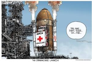ACA Launch cartoon